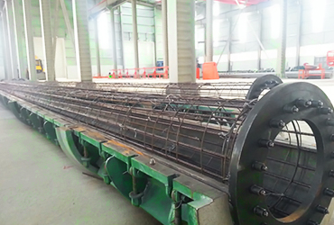 Concrete Pole Production Plant